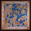 Женский большой шерстяной платок с терракотовой каймой Coveri Collection 73687 по цене 4500₽ - Шарфы, платки и воротники, фото 1