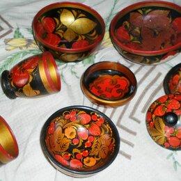 Декоративная посуда - Хохлома, посуда сувенирная, 0