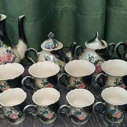 Сервизы и наборы - Чайный сервиз на 6 персон (16 предметов), 0