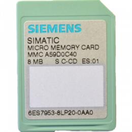 Принадлежности и запчасти для станков - Siemens 6ES7953-8LP20-0AA0, 0