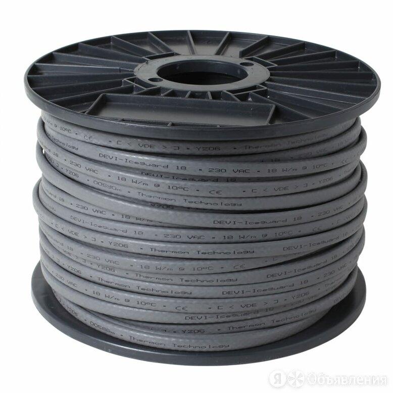 Саморегулируемый нагревательный кабель Devi Iceguard 18 по цене 273600₽ - Кабели и провода, фото 0