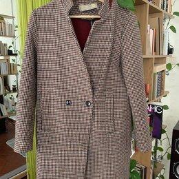 Пальто - Пальто женское Zara XS-S на пуговице, 0