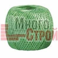 Упаковочные материалы - Шпагат полипропиленовый зеленый 60м 1200 текс// СИБРТЕХ//Россия, 0