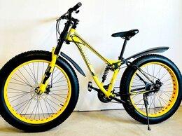 Велосипеды - ФЭТ-БАЙК  Мотовилка двухподвесный, 0