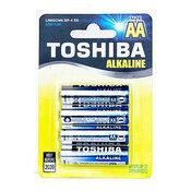 Батарейки - Элемент питания AA Toshiba алкалиновая, 0