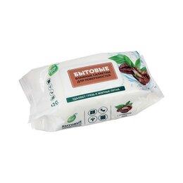 Влажные салфетки - Бытовые влажные салфетки для поверхностей с кофе СВЕЖАЯ НОТА, 120 шт., 0