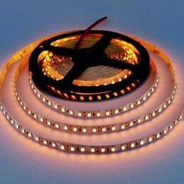 Светодиодные ленты - Светодиодная лента 12В 9,6 Вт/М IP20 120Led/M  желтая, 0