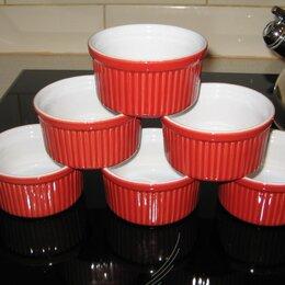 Посуда для выпечки и запекания - Emile Henry Набор из 6 рамекинов, 0