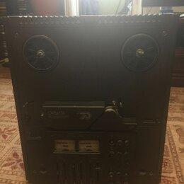 Музыкальные центры,  магнитофоны, магнитолы - Катушечный магнитофон орбита 106-стерео, 0