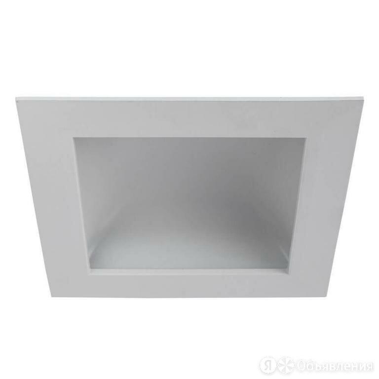 Встраиваемый светодиодный светильник Arte Lamp Riflessione A7416PL-1WH Белы по цене 2195₽ - Встраиваемые светильники, фото 0