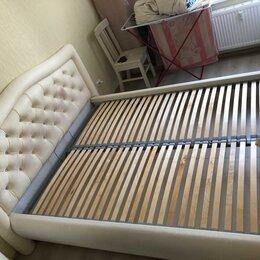 Кровати - двухспальная кровать VivCldi S-161, 0