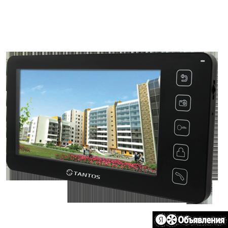 Видеодомофон Tantos Prime (black) VZ по цене 14091₽ - Домофоны, фото 0