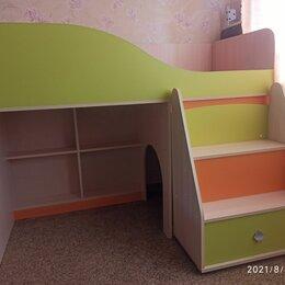 Кроватки - Детская кровать чердак , 0