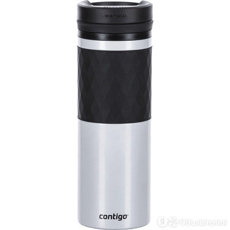 Термокружка Contigo Glaze серый металлик 470мл 1000-0774 по цене 2499₽ - Термосы и термокружки, фото 0