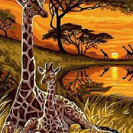 Комплектующие - Жирафы в Африке Артикул : EX 5287, 0