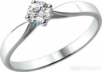 Помолвочное кольцо SOKOLOV 1010139_s_18 по цене 54950₽ - Кольца и перстни, фото 0