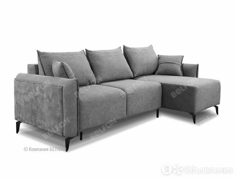 """""""Соренто"""" диван с оттоманкой; раскл.; """"Тик-так"""" (1480х2310); правый; металл ч... по цене 167984₽ - Диваны и кушетки, фото 0"""