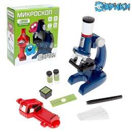 Микроскопы - Микроскоп «Юный исследователь», увеличение х1200, 0