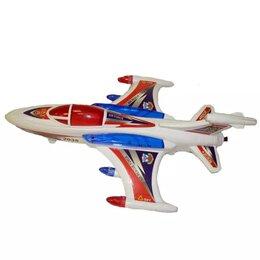 Игровые наборы и фигурки - Белый самолёт в пакете 2035 11х30см, 0