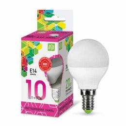 Лампочки - Лампа светодиодная LED-ШАР-standard 10Вт 230В E14 6500К 900Лм ASD 469061..., 0