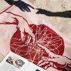 Полотенце махровое Fresco ПЦС-2602-4444 50х90, красный, хлопок 100, 460г/м2 по цене 612₽ - Полотенца, фото 3