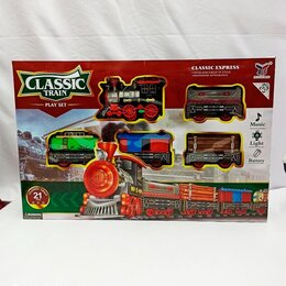 Детские железные дороги и автотреки - Железная дорога на батарейках, 0