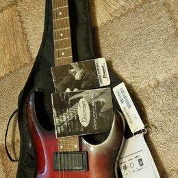 Электрогитары и бас-гитары - Гитара Ibanez grga42qa-trb, 0
