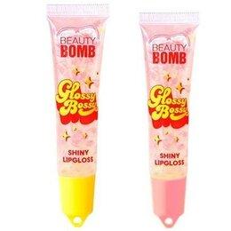 Для губ - Блеск для губ Beauty Bomb (новый) 2 шт, 0