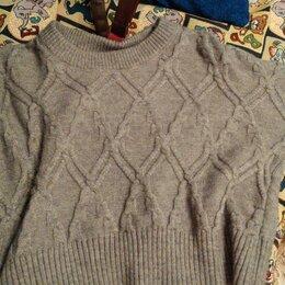 Свитеры и кардиганы - Вязунчик свитер с диагональными косами, 0