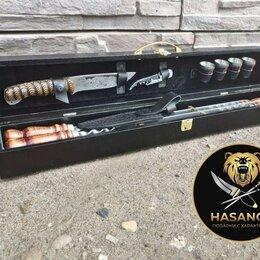 Аксессуары для грилей и мангалов - Шашлычный набор для пикника подарочный, 0