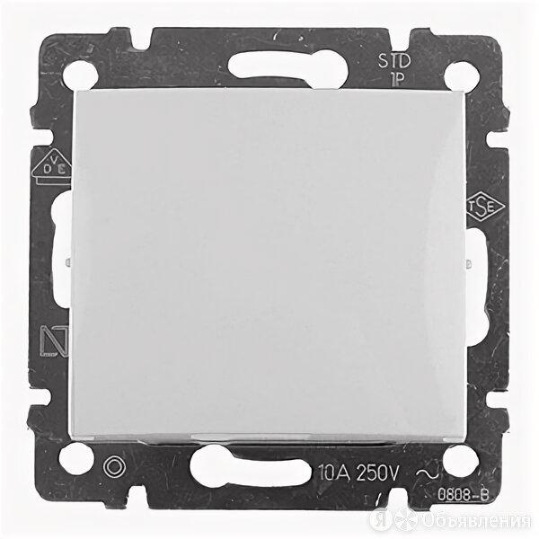 Выключатель одноклавишный Valena скрытой установки IP20 белый 694260 Legrand по цене 261₽ - Электроустановочные изделия, фото 0