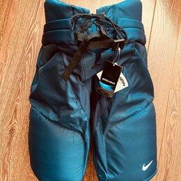 Аксессуары - Новые хоккейные трусы Nike Bauer Pro Stock navi Large, 0