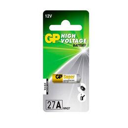 Батарейки - Высоковольтные пальчиковые батарейки «GP» 27AF, 1шт цена за 1шт, 0