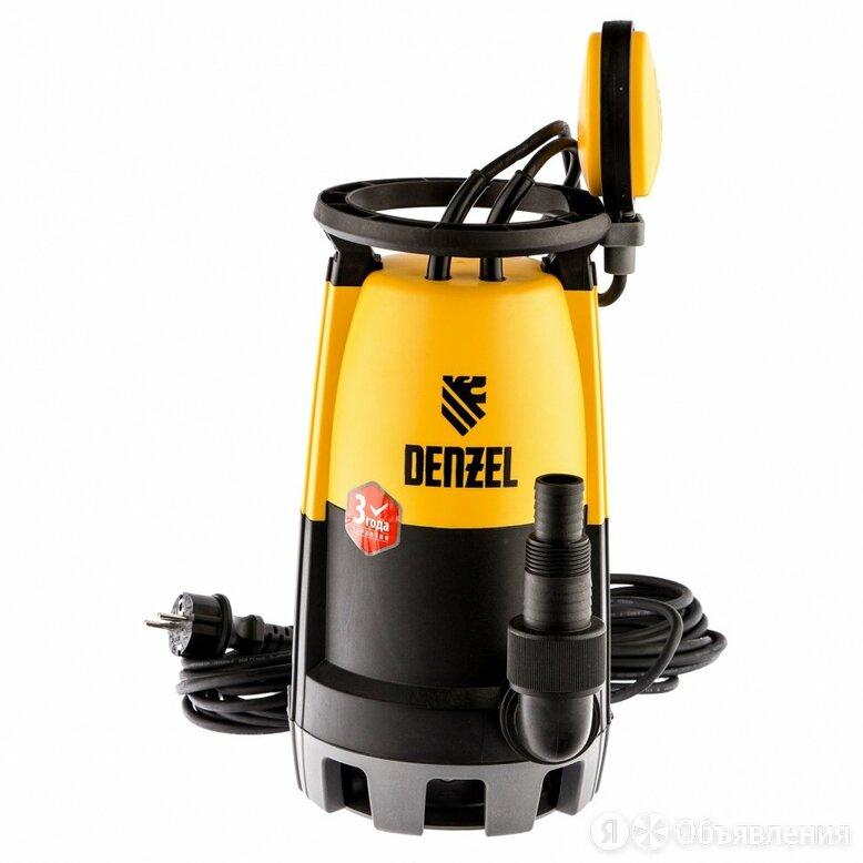Denzel Дренажный насос для чистой и грязной воды DP450S, 450 Вт, напор 6 м, 1... по цене 3450₽ - Насосы и комплектующие, фото 0