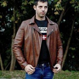 Куртки - Куртка мужская кожзаменитель, 0