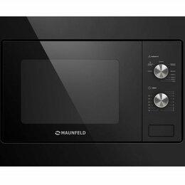 Микроволновые печи - Микроволновая печь Maunfeld MBMO.20.2PGB Black, 0