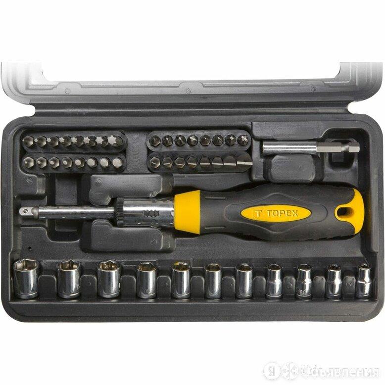 Набор насадок TOPEX 39D524 по цене 1289₽ - Наборы инструментов и оснастки, фото 0