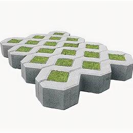 Садовые дорожки и покрытия - Решетка газонная из бетона 100*400*600, 0