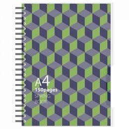 Бумажная продукция - Бизнес-тетрадь Attache Selection SPRING BOOK, 0