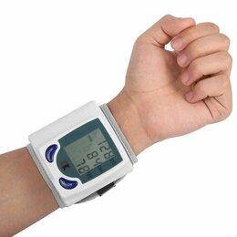 Устройства, приборы и аксессуары для здоровья - Тонометр, измеритель давления ритма и пульса, 0