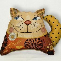 Декоративные подушки - Подушка-игрушка гобелен кот Горошек 35*40, 0