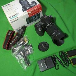 Фотоаппараты - Фотоаппарат Canon 60D + объектив Canon EF-S 18-135 kit, 0