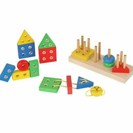 "Развивающие игрушки - Конструктор ""Геометрик"", 0"