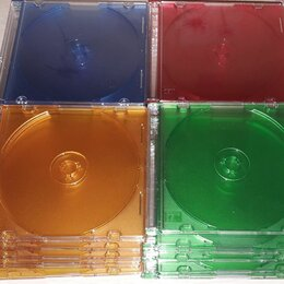Сумки и боксы для дисков - Боксы slim CD jewel case для 1 диска, 0
