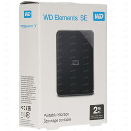 """Внешние жесткие диски и SSD - Внешний жесткий диск 2,5 """" WD 2TB Elements SE, 0"""