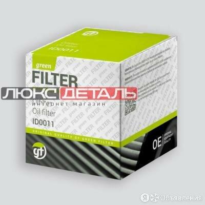 GREEN FILTER OK0123 Фильтр масляный  по цене 247₽ - Двигатель и комплектующие, фото 0