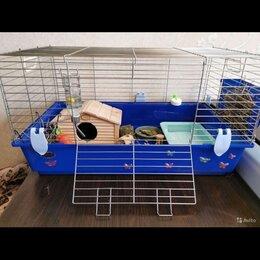 Клетки и домики  - Клетка для кролика и грызунов 80 см, 0