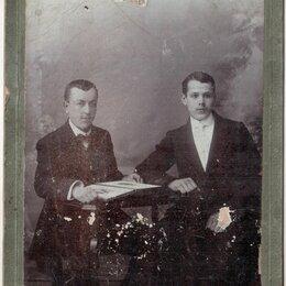 Фотографии, письма и фотоальбомы - Москва Фотография И.Л. Львова Парное фото Ранее 1917 года, 0