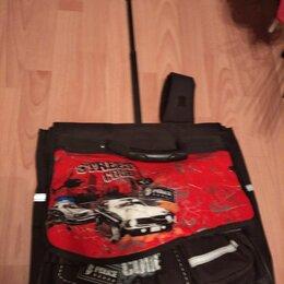 Рюкзаки, ранцы, сумки - Рюкзак ранец школьный на колесиках, 0
