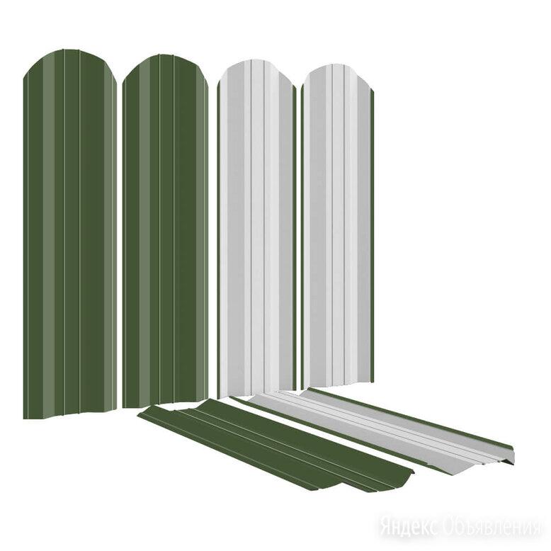 Штакетник металлический ЭКО-М 95мм RAL6002 Зеленый Лист по цене 92₽ - Заборы, ворота и элементы, фото 0